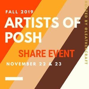 🍁Sign up! Artists Of Posh Handmade share event 🌀